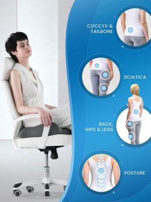 Pressure Relief Seat Cushion,Galorbee Pressure Relief Seat Cushion,pressure relief cushion,Wheelchair seat cushion,wheelchair cushions