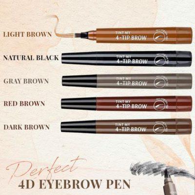 4D Perfect Brow Pen,Perfect Brow Pen,perfect brow bullet pen