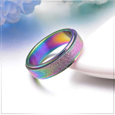 Stress Release Rotatable Ring
