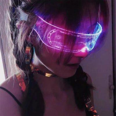 Colorful Luminous Glasses
