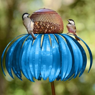 Coneflower Hummingbird Feeder,BIRD FEEDING,BIRD SEED,backyard feeder bird,HUMMINGBIRD FEEDER STAND