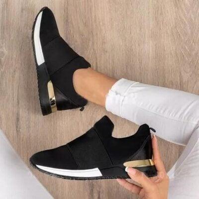 Elastic Slip Walking Shoes,walking shoes