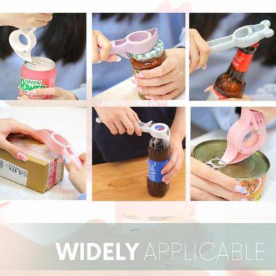 Bottle & Jar Opener,Bottle Opener,Jar Opener,4-IN-1 Bottle & Jar Opener