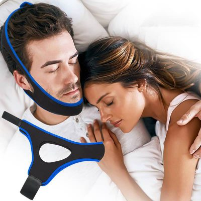 stop snoring,snoring problem,durable elastic materials,helpful product,Anti-Snoring Chin Belt