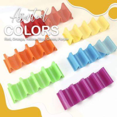 colorful taco racks,taco holder,fun taco holders,best taco holder,Silicone Taco Holder