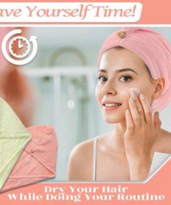 Eco Friendly Super Absorbent Hair Towel Wrap,Eco Friendly,Absorbent Hair Towel Wrap,Hair Towel Wrap,Hair Towel