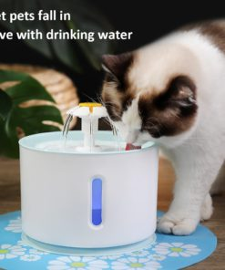 Fountain with LED Light,LED Light,Automatic Water Fountain,Water Fountain,Pet Automatic Water Fountain with LED Light