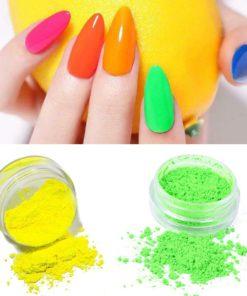 Nail Glitter Powder,Fluorescent Nail Polish,Nail Glitter,Glitter Powder,Nail Polish,Fluorescent Nail