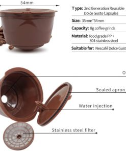 Стручки Nespresso, кавова капсула, пластикова ложка