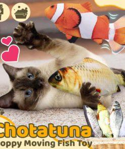 Chotatuna Floppy Moving Fish Toy,Floppy Moving Fish Toy,Moving Fish Toy,Fish Toy,Chotatuna Floppy Moving