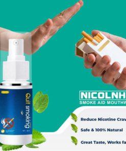 NicoInhib Smoke Aid Mouthwash,Smoke Aid Mouthwash,Smoke Aid,Mouthwash
