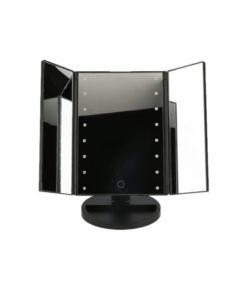Настільне дзеркало для макіяжу, дзеркало для макіяжу, настільний макіяж, косметичне світлодіодне дзеркало, світлодіодне дзеркало