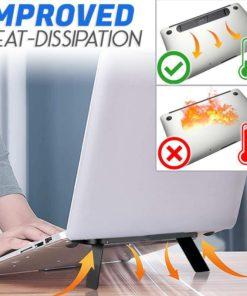 Suporte invisível para laptop, suporte para laptop, laptop invisível