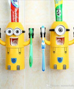 Minion Toothpaste Dispenser,Toothpaste Dispenser,Minion Toothpaste