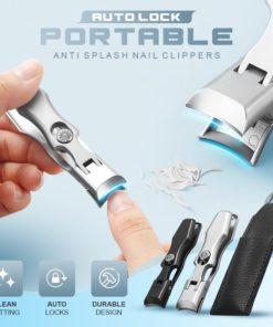 Auto Lock Portable Anti Splash Nail Clipper,Anti Splash Nail Clipper