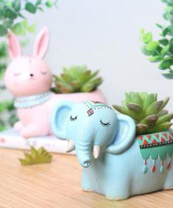Boho Animals,Animal Planter