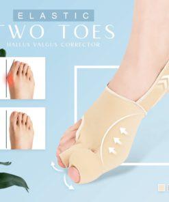 Elastic Two Toes Hallux Valgus Corrector,Hallux Valgus Corrector,Elastic Two Toes,Valgus Corrector