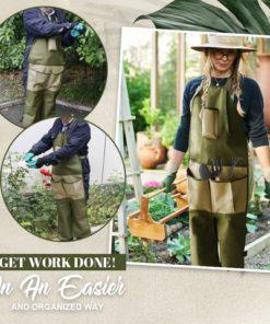 Gardening Multi Pockets Leg Protect Apron,Multi Pockets Leg Protect Apron, Leg Protect Apron