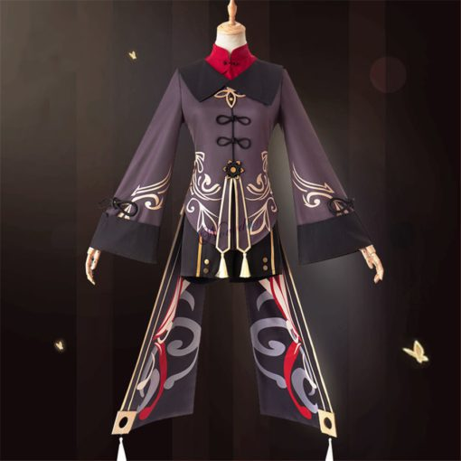 Genshin प्रभाव हू ताओ, हेलोवीन एनिमे पोशाक, एनिमे पोशाक