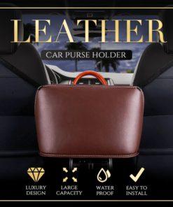 Car Purse Holder,Purse Holder,Leather Car,Leather Car Purse Holder