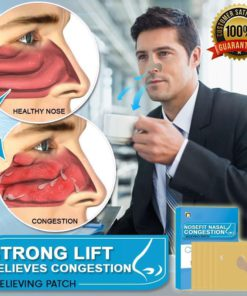 NoseFit Nasal Congestion Relieving Patch,Nasal Congestion Relieving Patch,Congestion Relieving Patch,Relieving Patch,Nasal Congestion Relieving