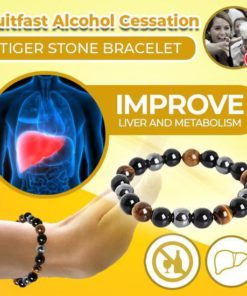Quitfast Alcohol Cessation Tiger Stone Bracelet,Alcohol Cessation Tiger Stone Bracelet,Tiger Stone Bracelet,Alcohol Cessation Tiger Stone