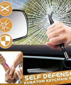 Self Defense Kubaton Keychain Rod,Self Defense