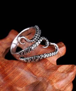 Octopus Tentacle Ring,Tentacle Ring,Octopus Tentacle