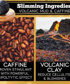 Volcanic Mud Coffee Slimming Body Soap,Volcanic Mud Coffee,Slimming Body Soap