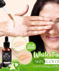 White Tag,Skin Color,Tag Skin,White Tag Skin Color Changing Serum